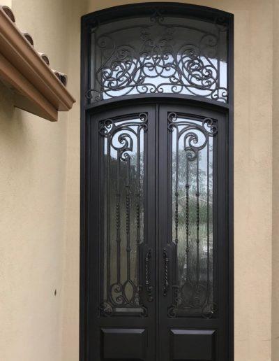 Wrought Iron Custom Doors