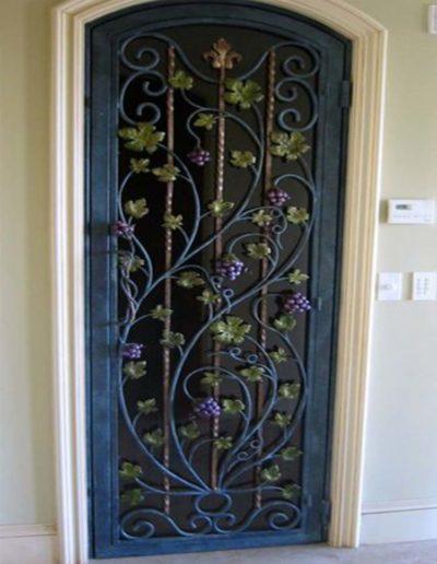 Custom Single Iron Doors by Baltic Iron Doors .jpg6