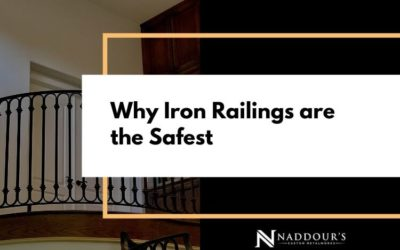 Why Iron Railings Are The Safest